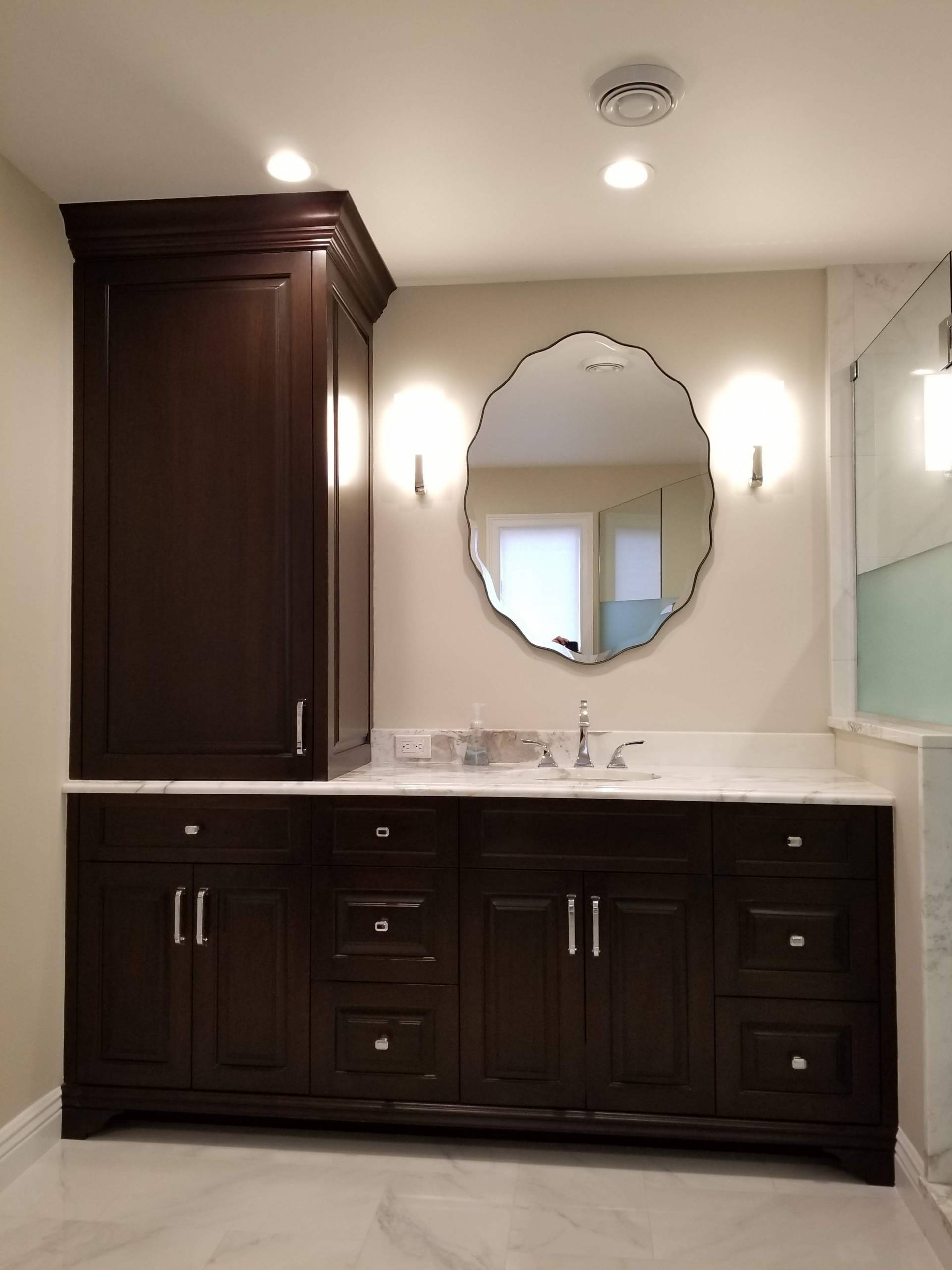 Custom Bathroom Cabinets Long Island, Bathroom Cabinetry ...