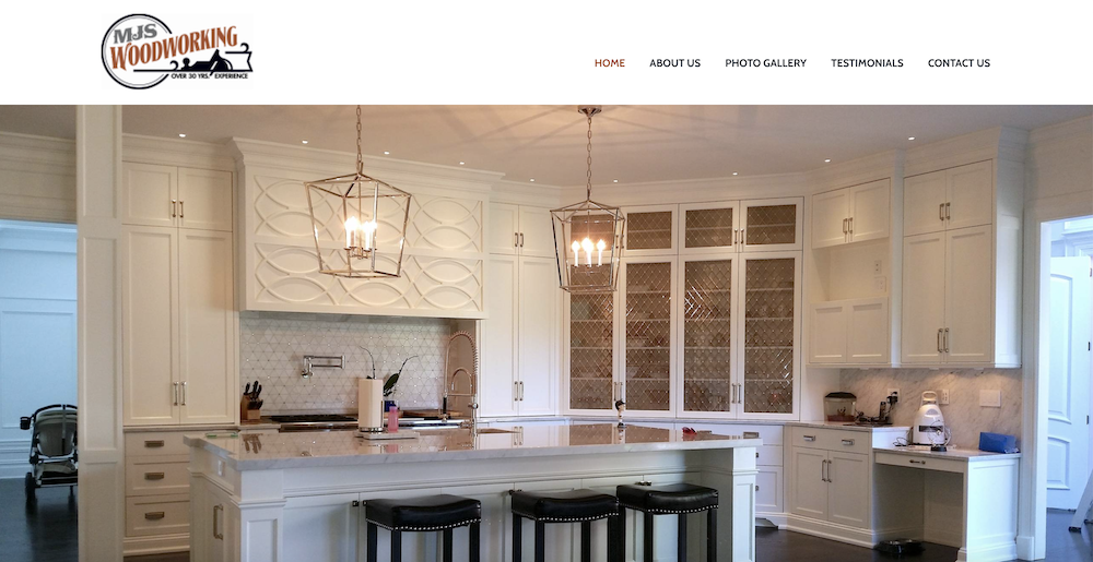 MJS Woodworking Launches A New Website